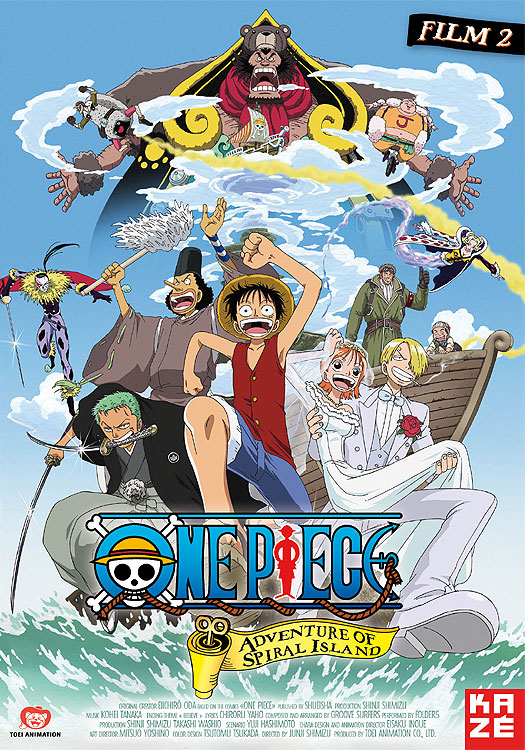 One Piece: La aventura en la isla espiral (2000) |Castellano| |Película02| |Mega|