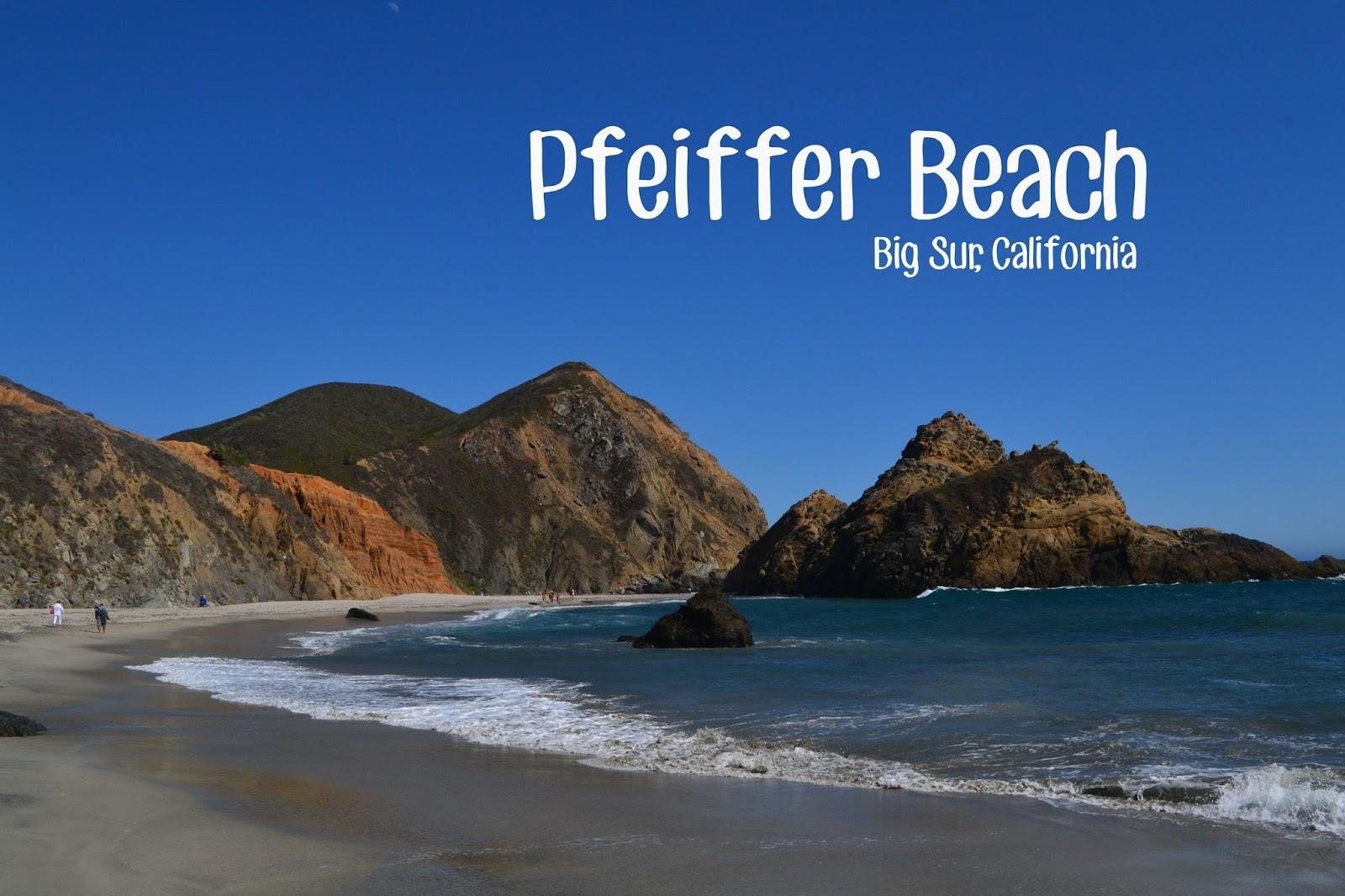 Pfeiffer Beach Sur California