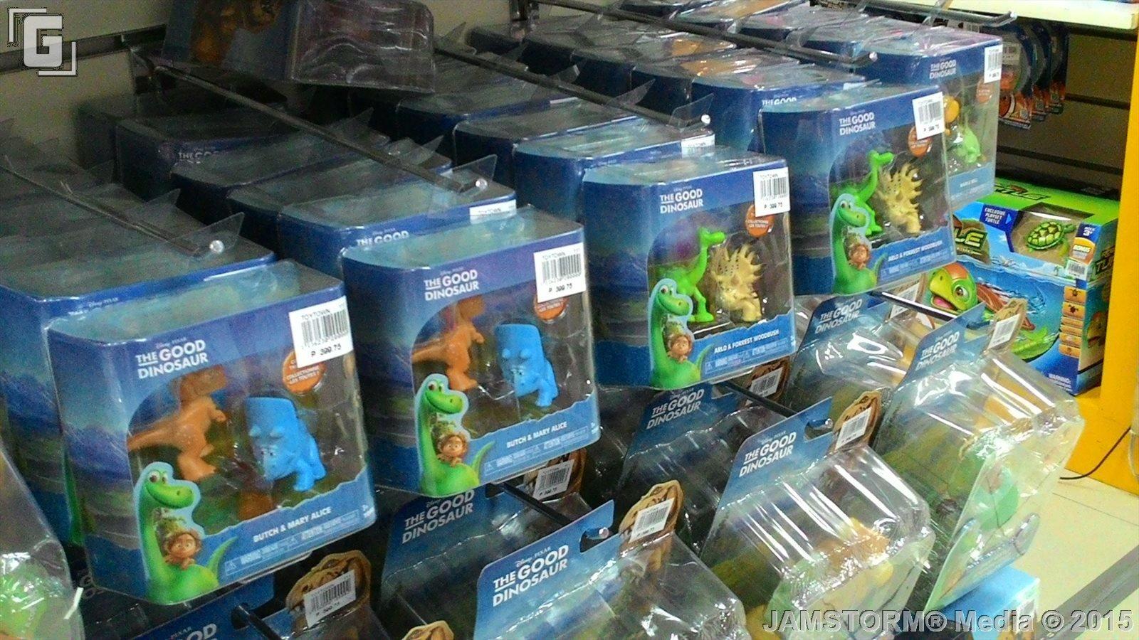 GeekMatic Toy Sightings The Good Dinosaur Merchandise
