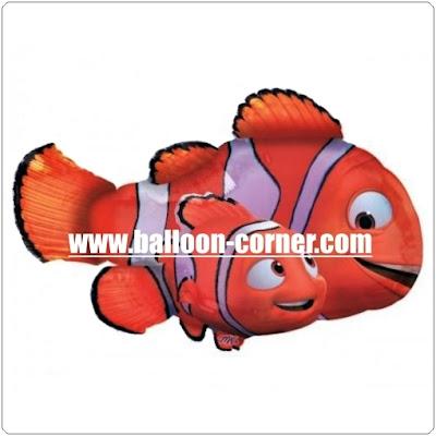 Balon Foil Karakter Finding Nemo