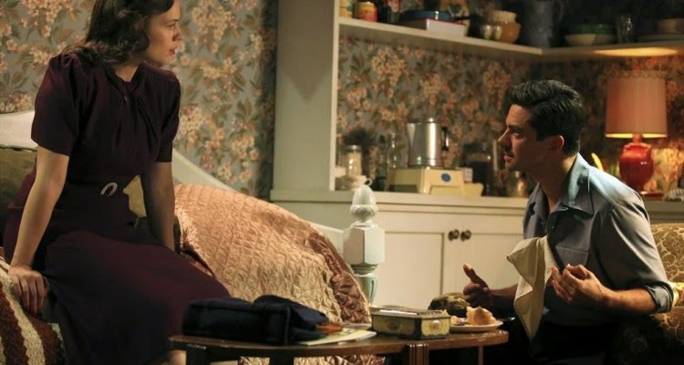 Hayley Atwell and Dominic Cooper star in Agent Carter.