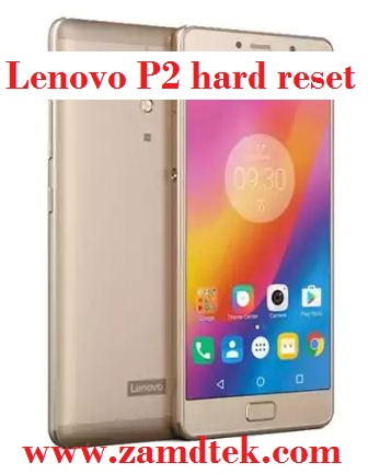 Lenovo P2 google account reset. Pattern removal and frp bypass
