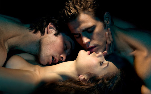 The Vampire Diaries, serie sobre jóvenes vampiros