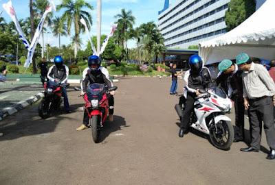 Suzuki Ajak Pemilik Dealer Test Ride GSX-R 150 dan GSX-S150