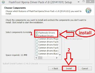 Cara Flash Sony Xperia T2 Ultra D5303