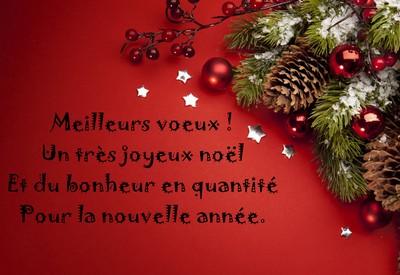 Message Pour Dire Bonnes Fêtes Et Joyeux Noël 2019