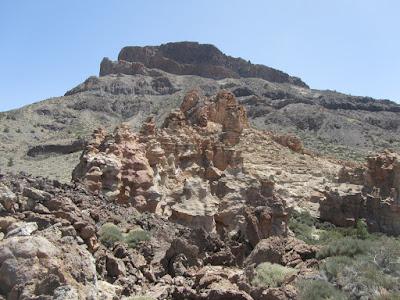 Mar a Cumbre - PR-TF-86 - Montaña Guajara y Los Caprichos - Ruta 4-Siete Cañadas - Tenerife - Islas Canarias