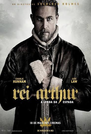 Filme Poster Rei Arthur: A Lenda da Espada