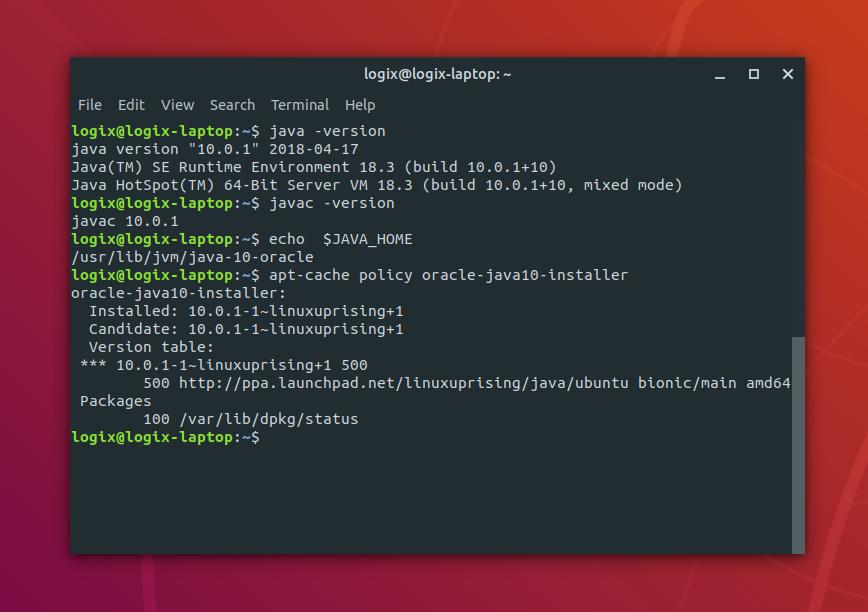 oracle java download linux 64