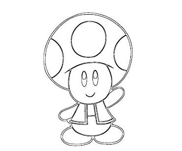 Toad and toadette coloring pages for Toad and toadette coloring pages