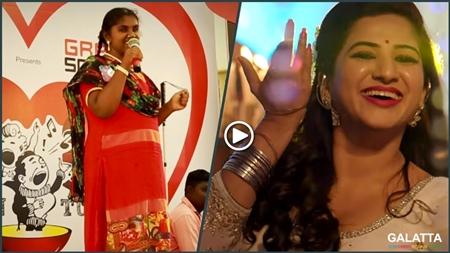 Jyothi sings Soppana Sundari Song | Visually Impaired Singer | Iris | Valentunes