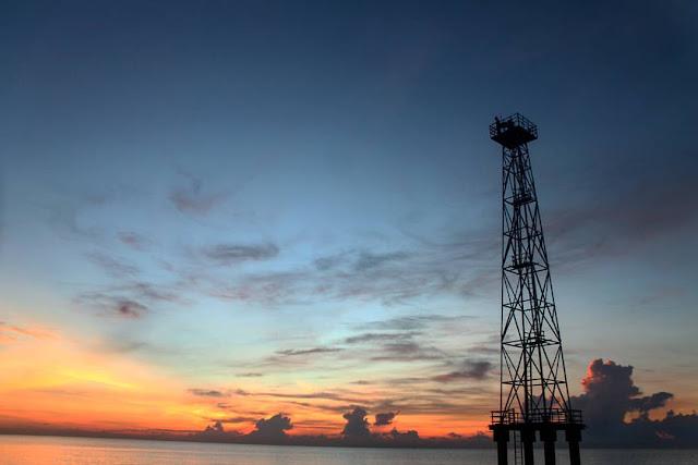 Mercusuar Pantai Joras. Kabupaten Tanah Laut