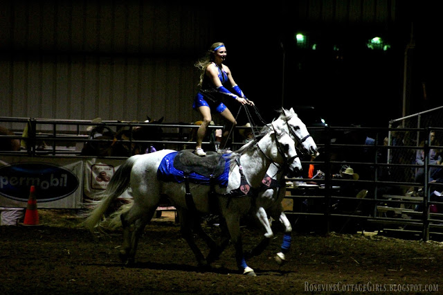 #rodeo #cowgirls #trickriders #horses