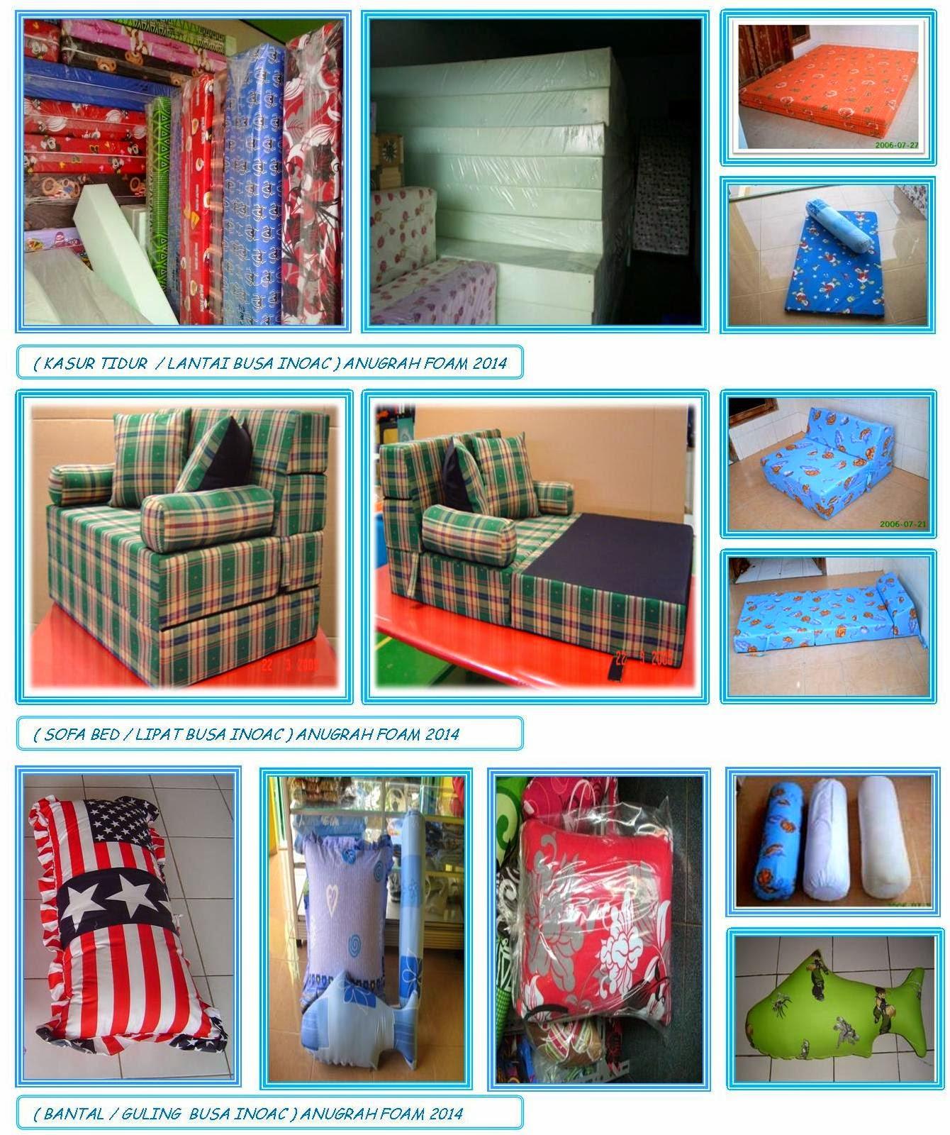 Harga Sofa Bed Inoac Cikarang Delta Reviews Kasur Busa Dan Aneka Produk Foam