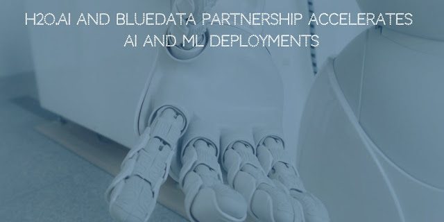H2O.ai and BlueData Partnership Accelerates Artificial Intelligence (AI) And Machine Learning (ML) Deployments