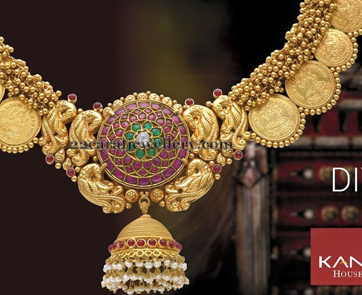 Jhumka Pendant Ethnic Necklace Jewellery Designs