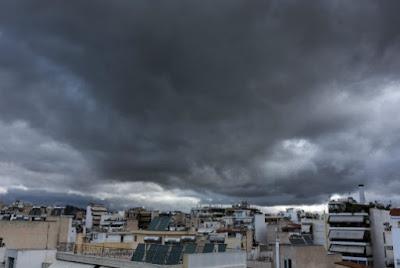 Ραγδαία επιδείνωση του καιρού: Έρχονται βροχές, καταιγίδες και χαλάζι από αύριο