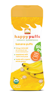 Happy Puffs banana puffs