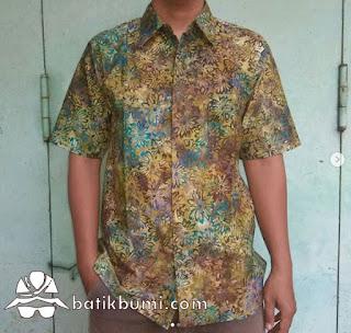 Kemeja batik slimfit