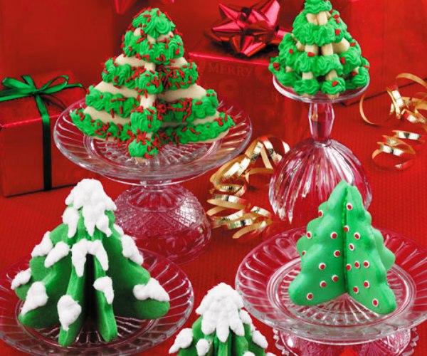 Gluten Free Vegan Journey: 3-D Christmas Tree Cookies