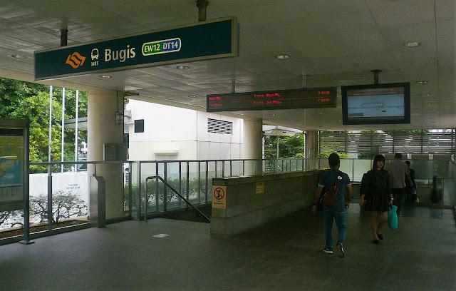 Visit Singapore Jelajah Singapura One Day Trip Stasiun Bugis