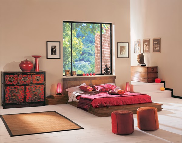 Bedroom Glamor Ideas: Zen style Bedroom Glamor Ideas.