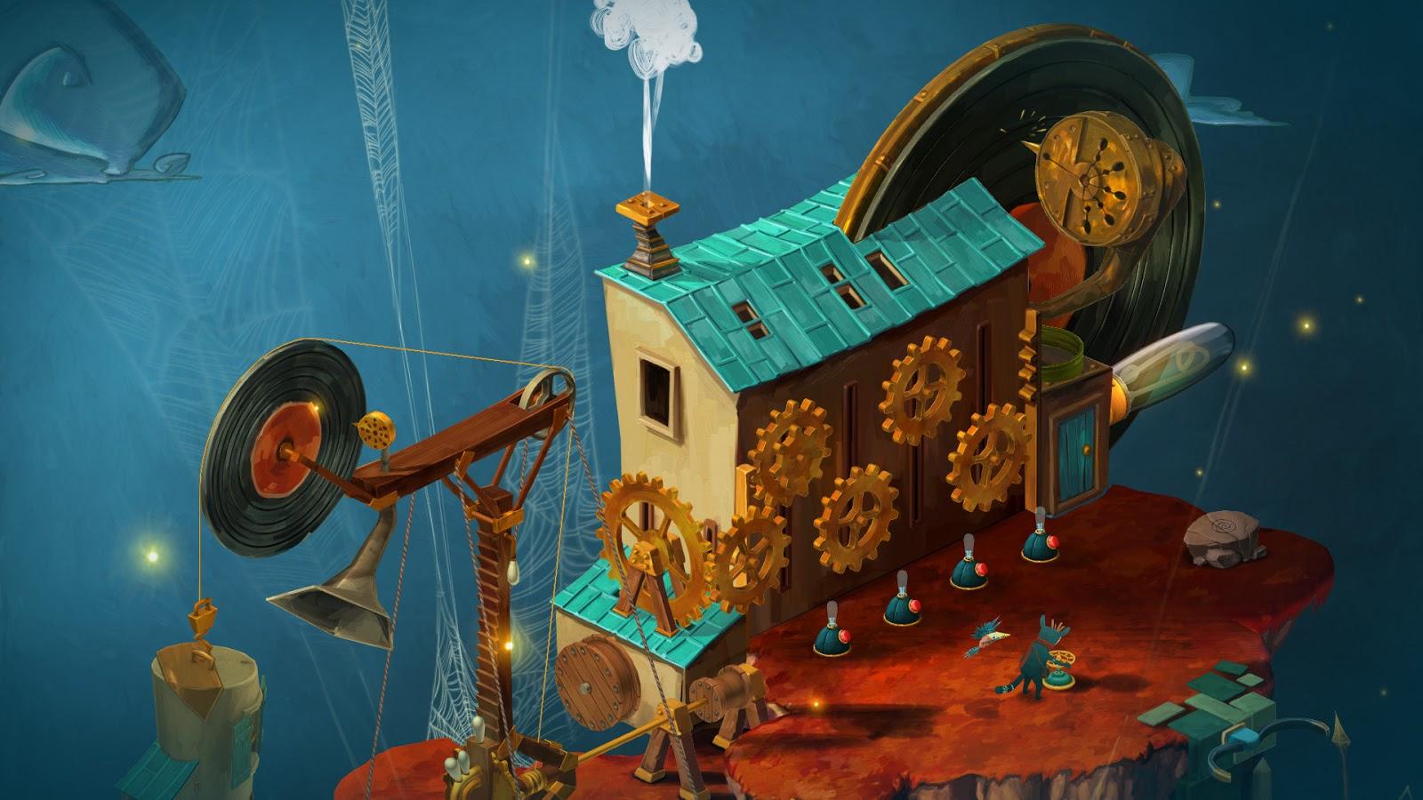 Figment, Bedtime Digital Games, новая игра от атворов создателей разработчиков Chronology и Back to Bed, головоломка, паззл, приключение, фэнтези, Puzzle, Adventure, Fantasy, инди-игра, IndieGame, обзор, рецензия, Review