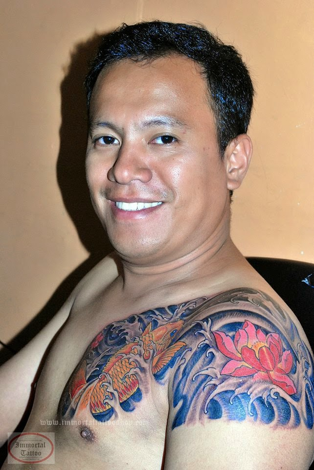 49 Best Chest Koi Fish Tattoos Images On Pinterest: IMMORTAL TATTOO MANILA PHILIPPINES By Frank Ibanez Jr