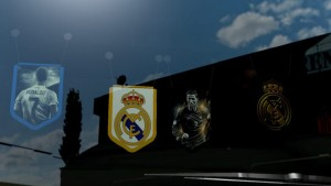 Pennants Pack for Real Madrid