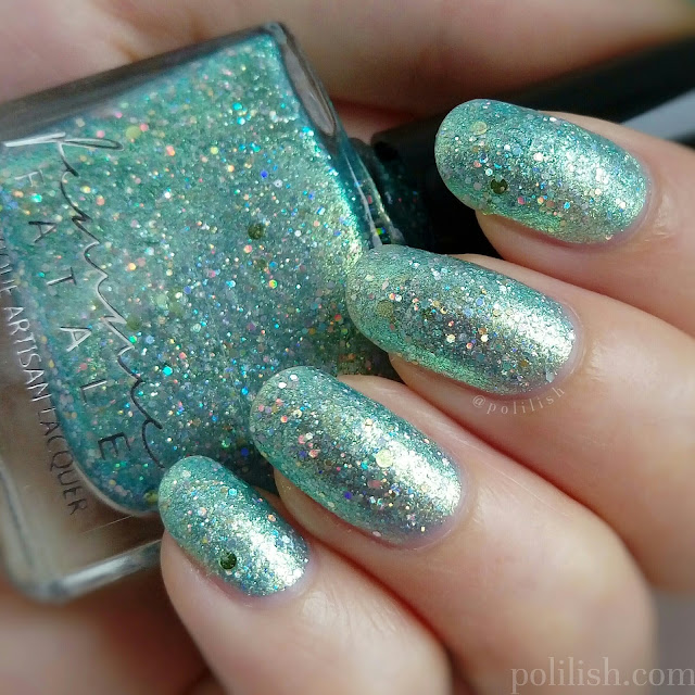 Femme Fatale Cosmetics 'Maze of Mirrors' swatch, by polilish