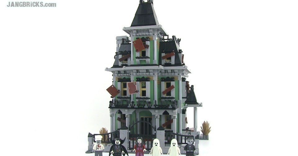 LEGO Monster Fighters 10288 Haunted House set review!