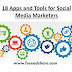 18 Apps and Tools for Social Media Marketers