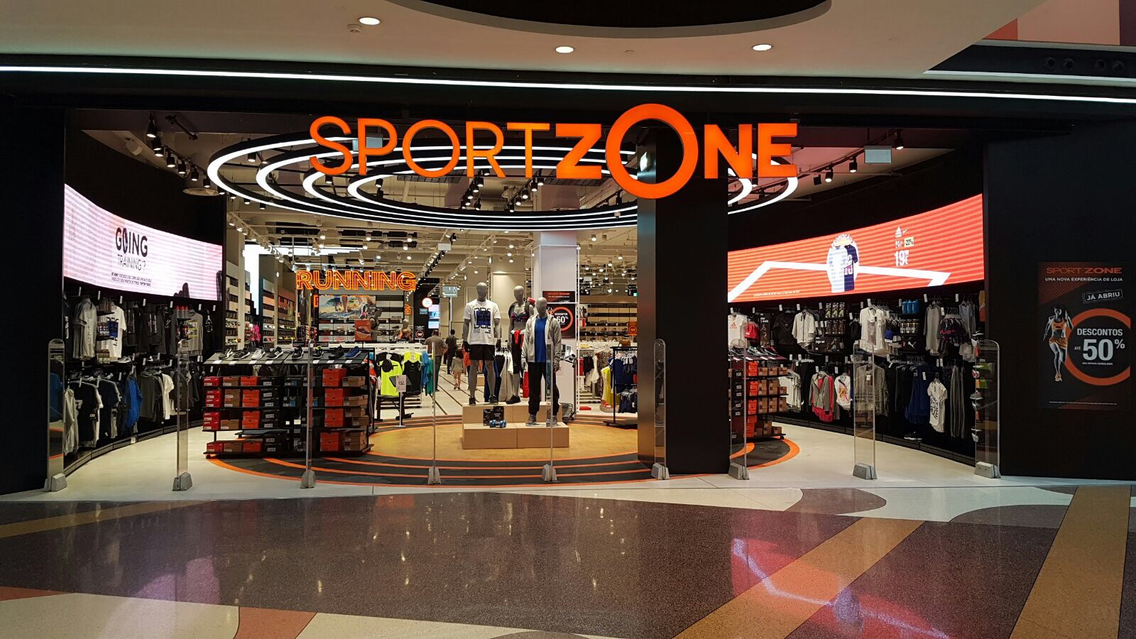 Citaten Sport Zone : Aminhacorrida sport zone renova loja no dolce vita