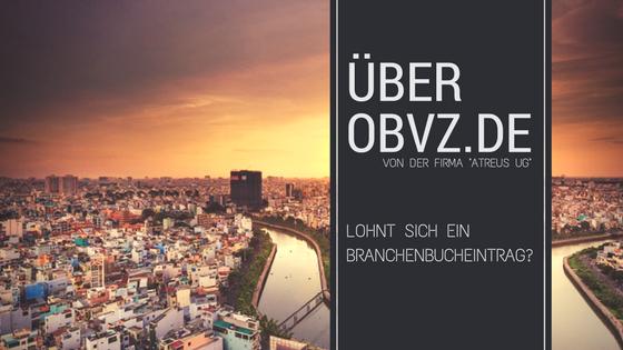 Beitragsbild: OBVZ.de: Branchenbuch von der Astreus UG