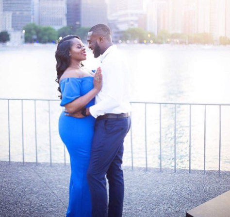 Former Mr Nigeria Kenneth Okolie Showers Love On Wifey