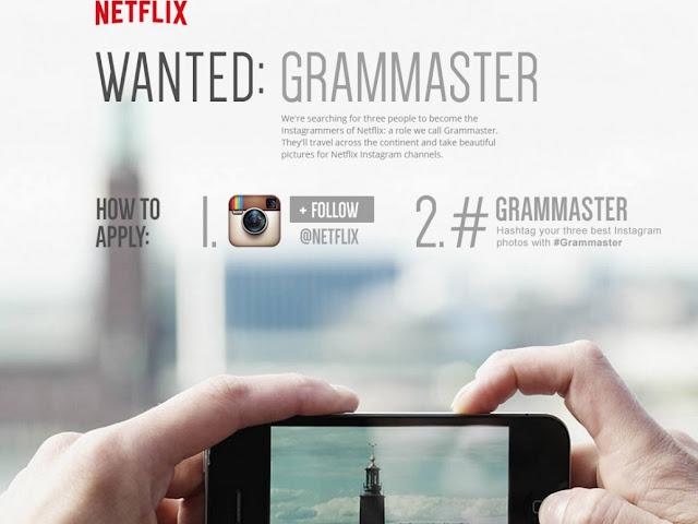 Netflix te pagará 4 mil dólares solo por ir a Europa y publicar en Instagram