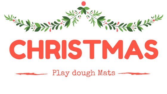 Christmas Play.Everything Is Grace Christmas Play Dough Mats