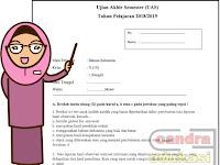 Soal UAS Bahasa Indonesia Kelas 10 Semester 1