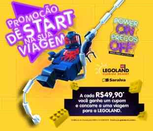 Cadastrar Promoção Saraiva Legoland 2018 Viagem Orlando Dê Start Sua Viagem