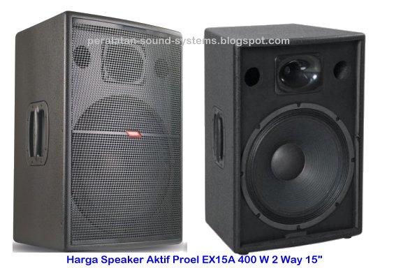 Harga-Speaker-Aktif-Proel-EX15A