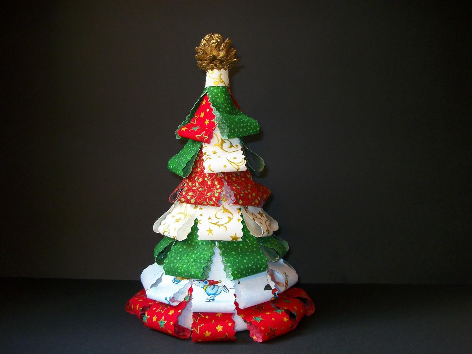 Las labores de la abuela kiki arbol de navidad - Arbol de navidad tela ...