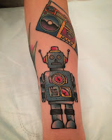 робот тату
