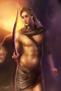 Apolo. Dioses griegos. Mitologia Clasica