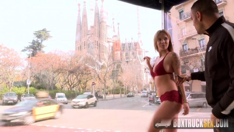 Box Truck Sex - Angel Piaff Enjoys Rebound Sex in Public