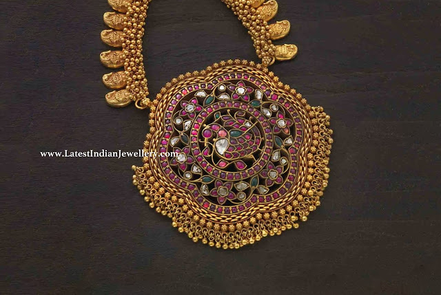 Antique Rakodi Pendant Haram
