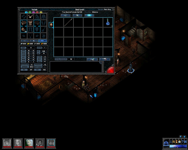 Inventory screenshot | Temple of Elemental Evil