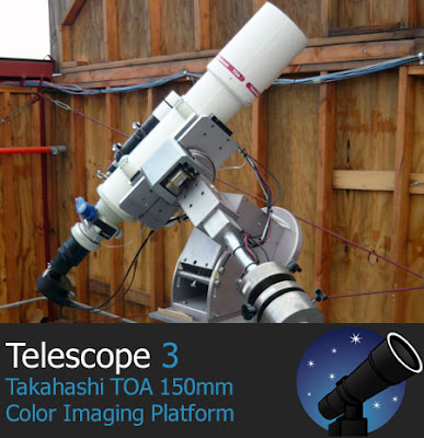 Telescope.com's T-3 used to image Insight Observatory's first images
