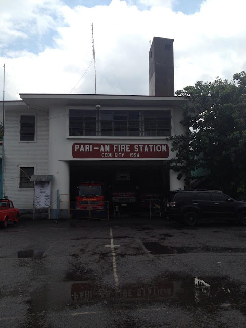 Parian Fire Station near the Heritage of Cebu Monument