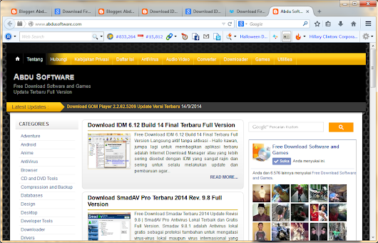 Abdu Software: Download Mozilla Firefox 34.0 Beta 3 Terbaru Install Offline
