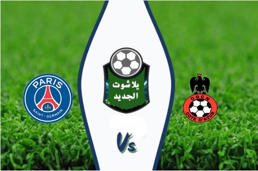 نتيجة مباراة باريس سان جيرمان ونيس بتاريخ 18-10-2019 الدوري الفرنسي